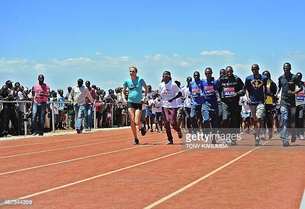 Kenya's 3000m steeplechase world Champion Ezekiel Kemboi Double world and Olympic champion Britain'sMohamed 'Mo' Farah 2011 world 10000m champion...