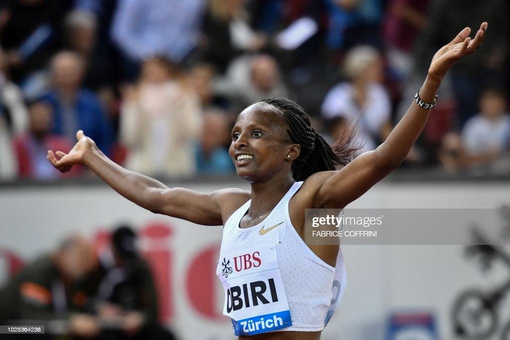 Athletics-DIAMOND-SUI : News Photo