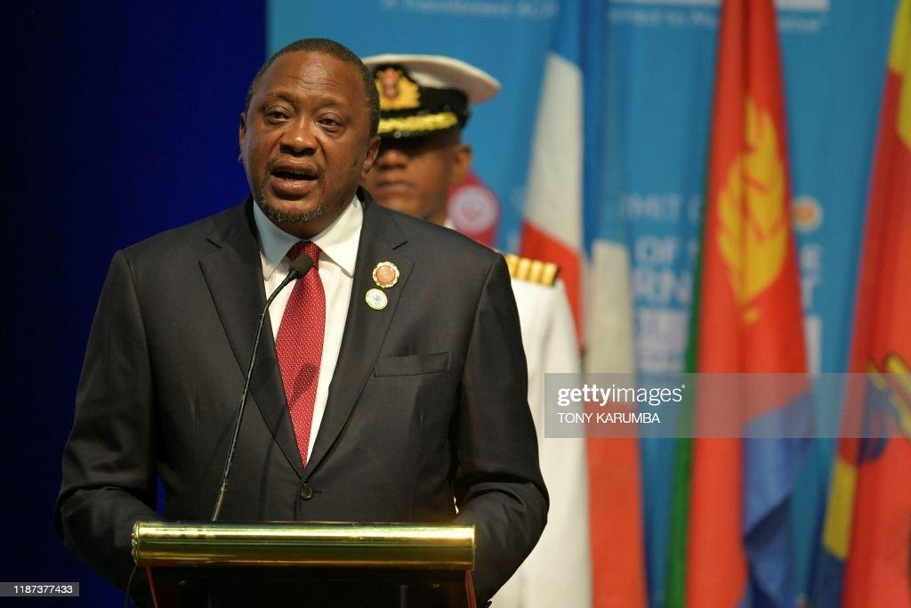 KENYA-POLITICS-SUMMIT-ACP : News Photo