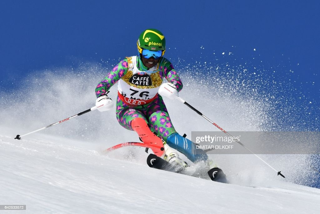 SKI-ALPINE-WORLD-WOMEN-SLALOM : News Photo