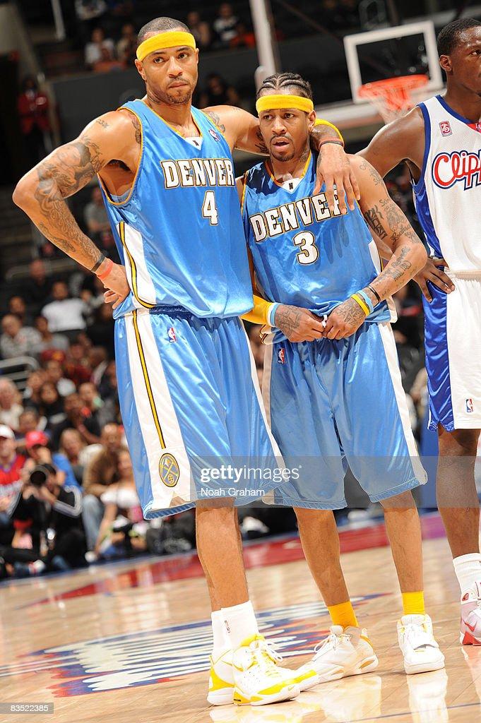 Denver Nuggets v Los Angeles Clippers : Foto jornalística