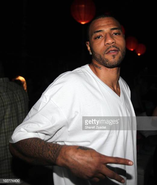Kenyon Martin visits Amnesia NYC on July 8 2010 in New York City