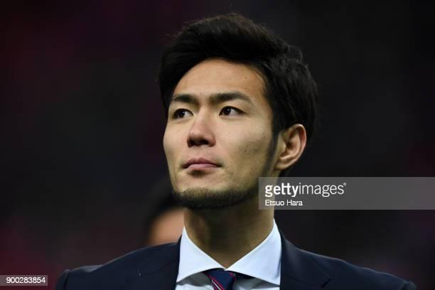 Kenyu Sugimoto of Cerezo Osaka is seen after the 97th All Japan Football Championship final between Cerezo Osaka and Yokohama FMarinos at the Saitama...