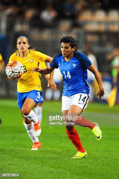 Kenza DALI of France during the International friendly match between France women and Brazil women on September 16 2016 in Grenoble France