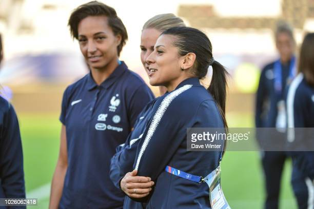 Kenza Dali of France during the Women's friendly international match between France and Mexico on September 1 2018 in Amiens France