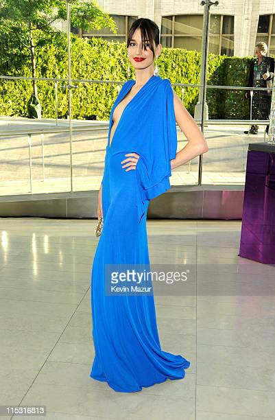 Kenza Fourati attends the 2011 CFDA Fashion Awards at Alice Tully Hall, Lincoln Center on June 6, 2011 in New York City.