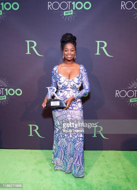 Kenzia Williams attends 2019 ROOT 100 Gala at The Angel Orensanz Foundation on November 21 2019 in New York City