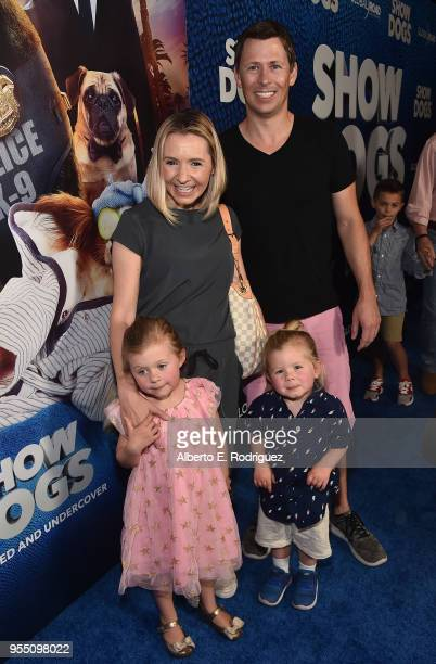 Kenzie Cameron actress Beverly Mitchell Hutton Michael Cameron and Michael Cameron attend the premiere of Global Road Entertainment's Show Dogs at...