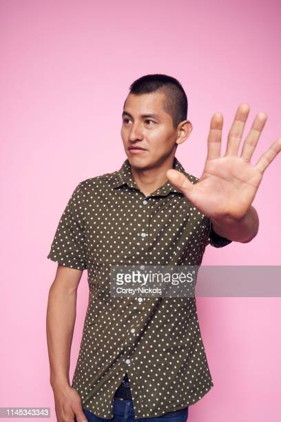 Kenzo Hirose of the film 'A Taste of Sky' poses for a portrait during the 2019 Tribeca Film Festival at Spring Studio on April 26 2019 in New York...