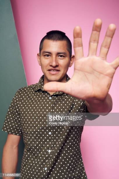Kenzo Hirose of the film 'A Taste of Sky' poses for a portrait during the 2019 Tribeca Film Festival at Spring Studio on April 27 2019 in New York...