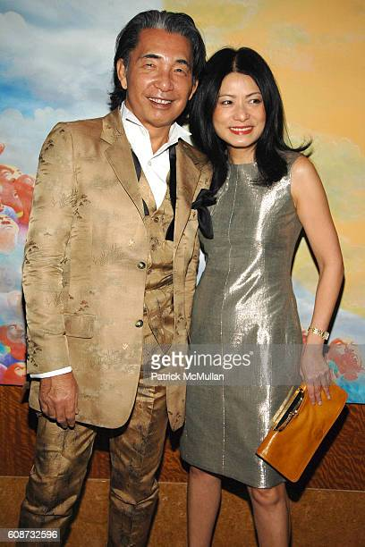 Kenzo Takada and Vivienne Tam attend MANDARIN ORIENTAL HOTEL GROUP Party for the SOTHEBY'S Contemporary Asian Art Exhibition at The Mandarin Oriental...