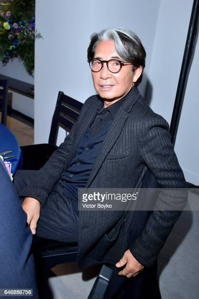 Kenzo Takada attends Kenzo La Collection Momento N°1 event at Kenzo Headquarters on March 1 2017 in Paris France