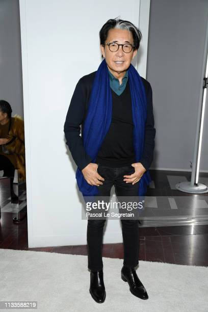 Kenzo Takada attends the Giambattista Valli show as part of the Paris Fashion Week Womenswear Fall/Winter 2019/2020 on March 04 2019 in Paris France