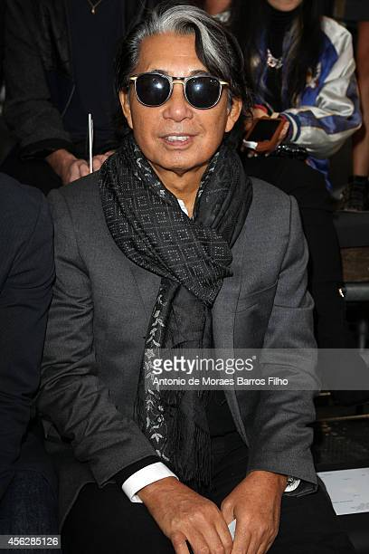 Kenzo Takada attends the Kenzo show as part of the Paris Fashion Week Womenswear Spring/Summer 2015 on September 28 2014 in Paris France