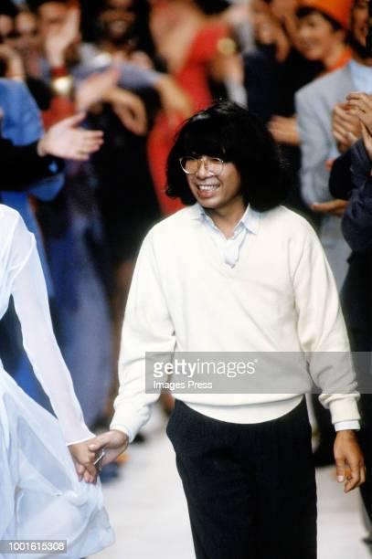 Kenzo Takada during Paris Fashion Week circa 1991 in Paris