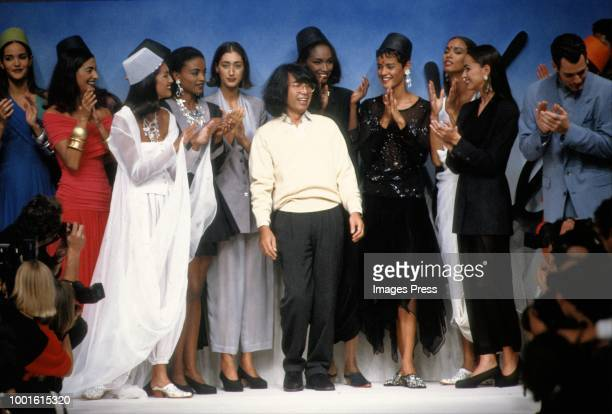 Kenzo Takada during Paris Fashion Week circa 1991 in Paris