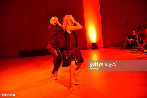 Kenzo World clip Choreographer/dancer Ryan Heffington and dancer Denna Thomsen perform during 'Kenzo World' Kenzo: New Perfume Launch and Spike Jonze...