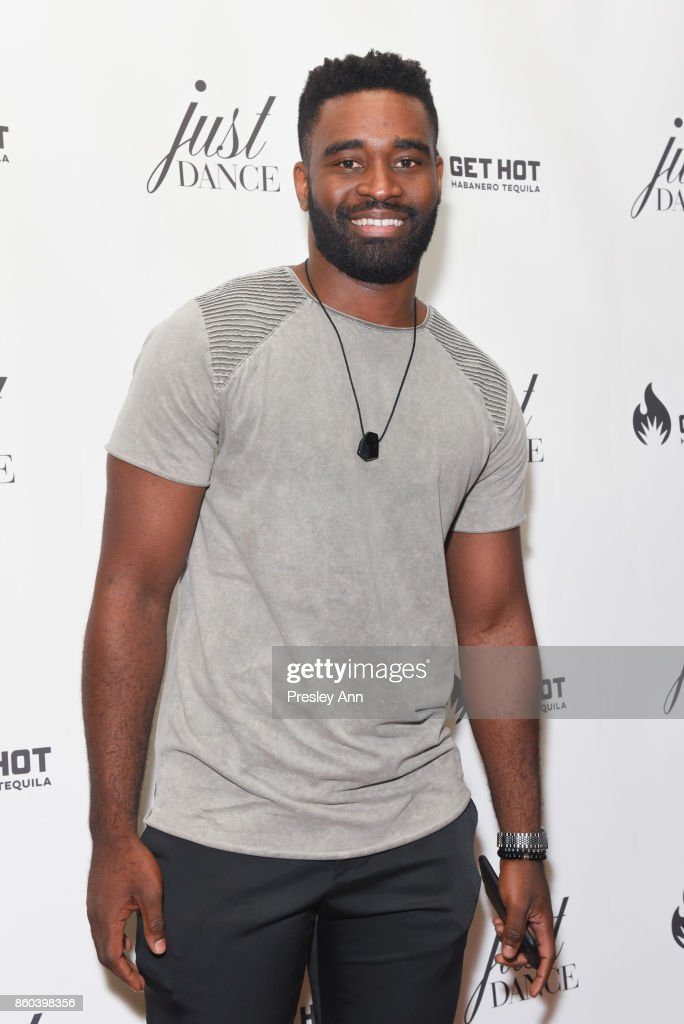 Keo Motsepe attends grand opening event for JustDance LA at Just Dance Los Angeles on October 11, 2017 in Studio City, California.