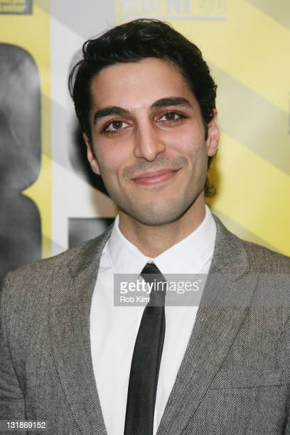 """Keon Mohajeri attends the premiere of """"Circumstance"""" at the closing night of New Directors/New Films 2011 at The Museum of Modern Art on April 3,..."""
