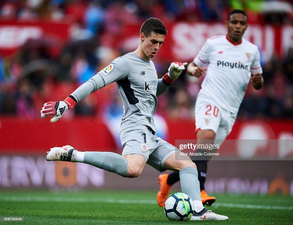 Sevilla v Athletic Club - La Liga : Fotografia de notícias