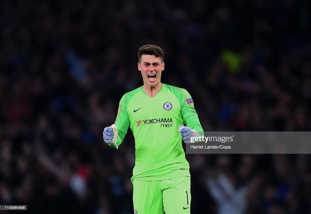 Chelsea v Slavia Praha - UEFA Europa League Quarter Final : Second Leg : News Photo