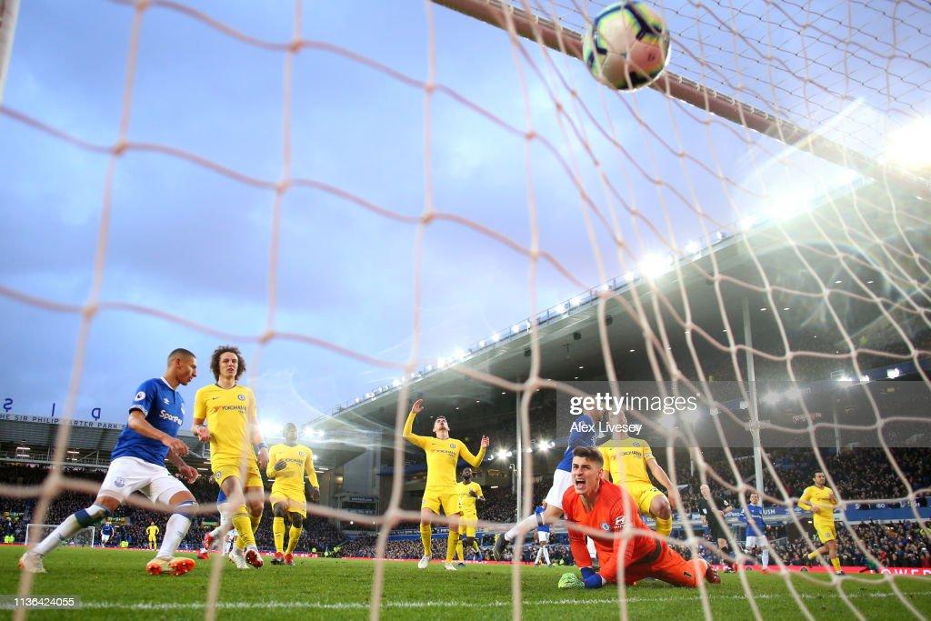 GBR: Everton FC v Chelsea FC - Premier League