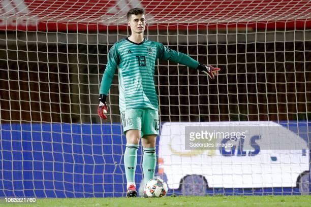 Kepa Arrizabalaga of Spain during the UEFA Nations league match between Spain v Bosnia and Herzegovina at the Estadio de Gran Canaria on November 18...