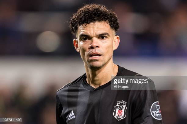 Kepler Laveran Lima Ferreira of Besiktas JK during the Turkish Spor Toto Super Lig match between Medipol Basaksehir FK and Besiktas AS at the Recep...