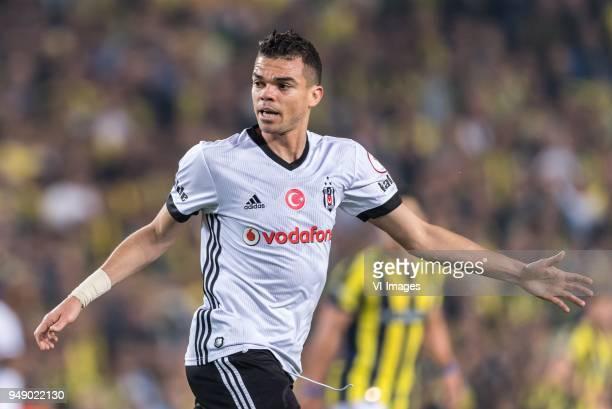 Kepler Laveran Lima Ferreira of Besiktas JK during the Ziraat Turkish Cup match Fenerbahce AS and Besiktas AS at the Sukru Saracoglu Stadium on April...