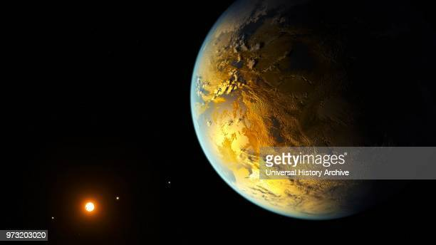 Kepler186f is an exoplanet orbiting the red dwarf Kepler186 about 560 lightyears from the Earth It is the first planet with a radius similar to...