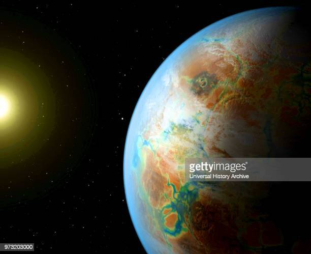 Kepler452b is an exoplanet orbiting the Sunlike star Kepler452 about 1 400 lightyears from Earth in the constellation Cygnus It is the first...