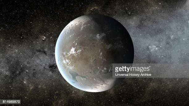 Kepler62f is a superEarth exoplanet orbiting within the habitable zone of the star Kepler62 the outermost of five such planets discovered by NASA's...