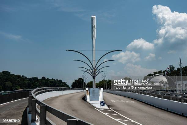Keppel Bay Bridge in Singapore