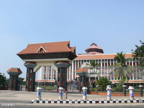 kerala legislative assembly - thiruvananthapuram stock photos and pictures