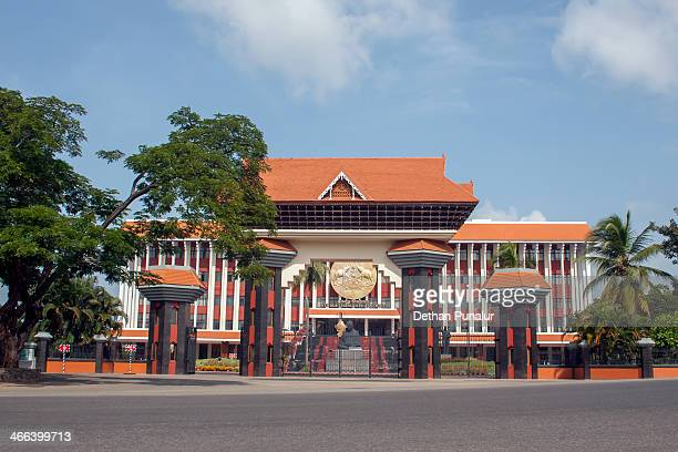 kerala legislative assembly, thiruvananthapuram - thiruvananthapuram stock photos and pictures