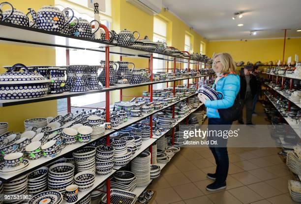 Keramik Fabrikverkauf Bunzlau Niederschlesien Polen