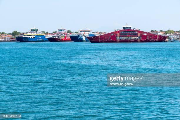 Keramoti seaport in Greece