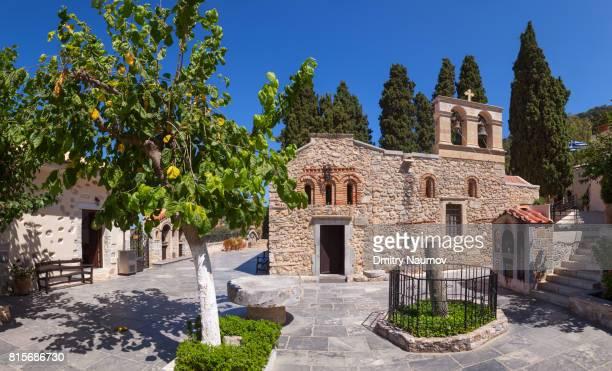 Keras Kardiotissas Monastery, Island of Crete, Greece, Mediterranean