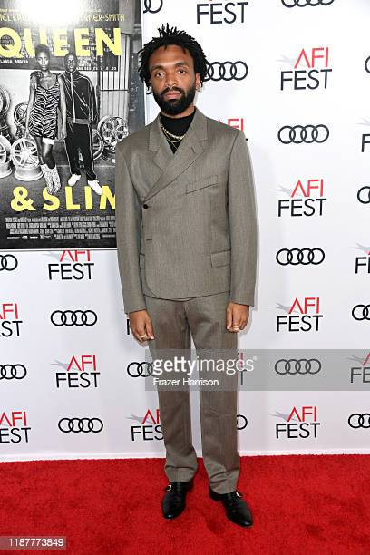 """Kerby Jean-Raymond attends the """"Queen & Slim"""" Premiere at AFI FEST 2019 presented by Audi at the TCL Chinese Theatre on November 14, 2019 in..."""