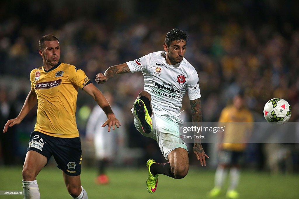 A-League Rd 25 - Central Coast v Western Sydney