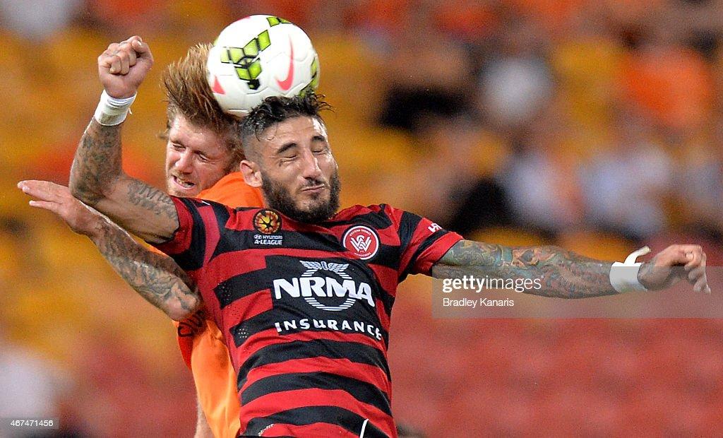 A-League Rd 21 - Brisbane v Western Sydney