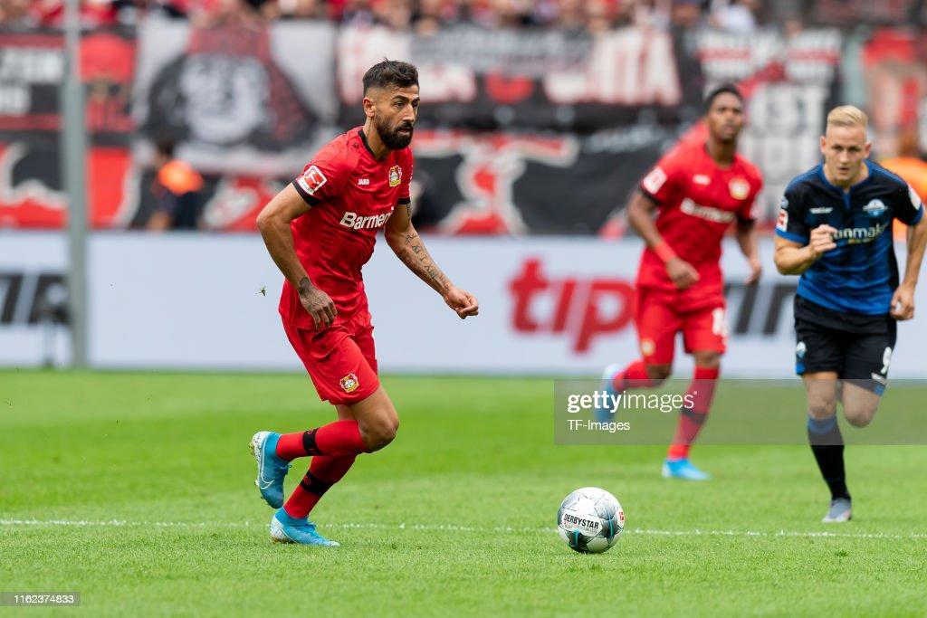 Bayer 04 Leverkusen v SC Paderborn 07 - Bundesliga : News Photo