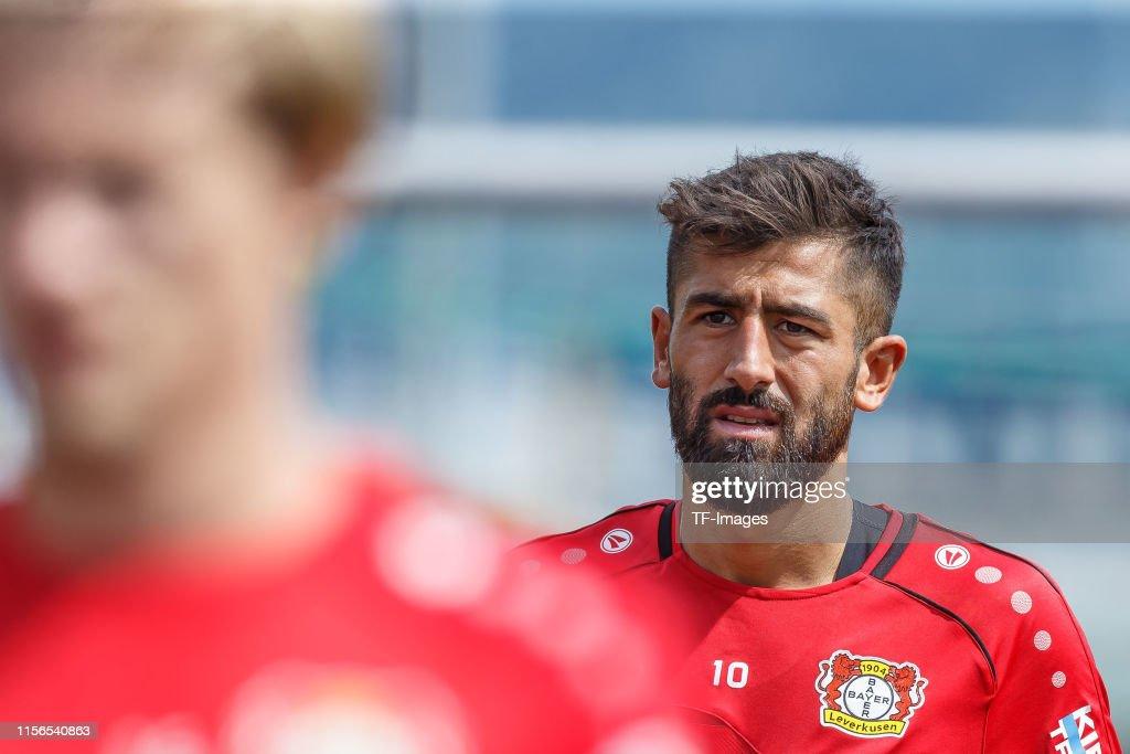 Bayer 04 Leverkusen Training Camp : News Photo