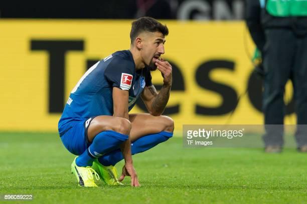 Kerem Demirbay of Hoffenheim looks on after the Bundesliga match between Borussia Dortmund and TSG 1899 Hoffenheim at Signal Iduna Park on December...