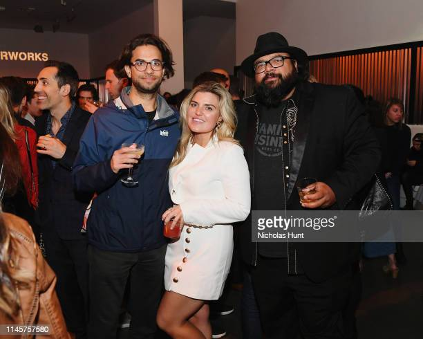 Kerem Sanga Carson Griffith Milan Chakraborty attend the 2019 Tribeca Film Festival AfterParty for Plus One hosted by Bulleit Bourbon at the Bulleit...