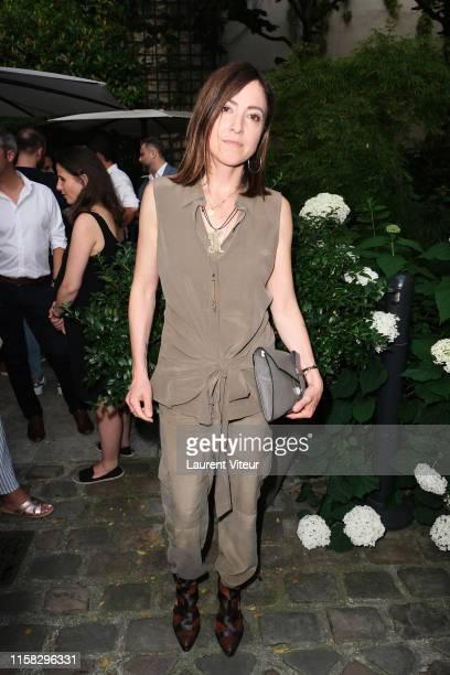 Keren Ann attends the Millesime Champagne Rose 2008 By Maison Piper Heidsieck : Launch Party At Pavillon De La Reine Place Des Vosges on June 25,...