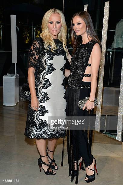 Keren Craig and Georgina Chapman attend the 2015 CFDA Fashion Awards at Alice Tully Hall at Lincoln Center on June 1 2015 in New York City