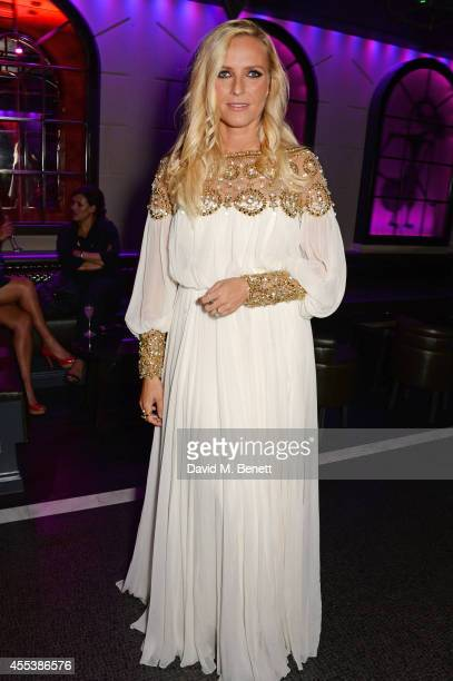 Keren Craig attends the Marchesa S/S 2015 after party sponsored by Revlon at Le Peep Boutique on September 13 2014 in London England