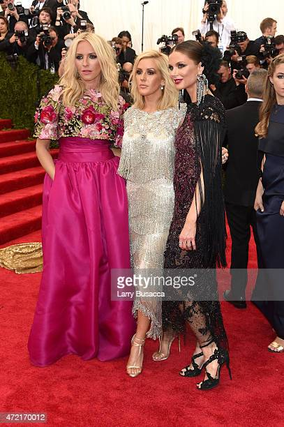 Keren Craig Ellie Goulding and Georgina Chapman attend the China Through The Looking Glass Costume Institute Benefit Gala at the Metropolitan Museum...