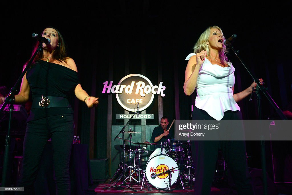 "Hard Rock Cafe's 13th Annual ""PINKTOBER"" Breast Cancer Awareness Campaign Featuring Bananarama"